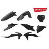 Polisport Plastic Kit SX 19-.. SXF 19-.. Black