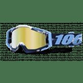 100% RACECRAFT Motocross Brille TIEDYE Spiegel GOLD
