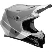 Thor Sector Motocross Helm Bomber Charcoal Weiß