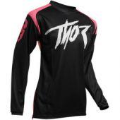Thor Motocross Jersey Women Sector Link Rosa
