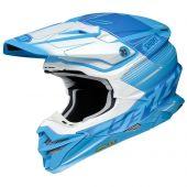 Shoei MX Motocross Helm VFX-WR Zinger TC-2