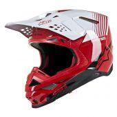 Alpinestars Helmet Supertech SM10 Dyno Red White