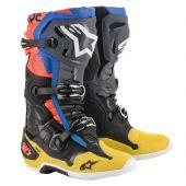 Alpinestars Boots Tech 10 Black Yellow Red
