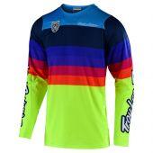 Troy Lee Designs SE Pro Motocross Jersey Mirage Gelb
