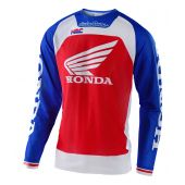 Troy Lee Designs Se Pro Air Crossshirt Boldor Honda Blau Rot