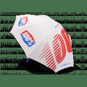 100% Regenschirm Weiß