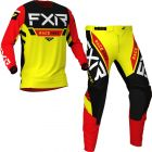FXR Youth Pro-Stretch MX Yellow Black Red Gear Combo